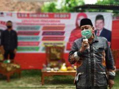 Calon wakil walikota nomer tiga Deddy Amarullah kampanye tatap muka di Kelurahan Sukarame, Kecamatan Sukarame, Kamis (8/10/2020).
