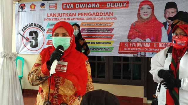 Eva Dwiana akan Perbanyak WiFi Gratis di Kota Bandarlampung