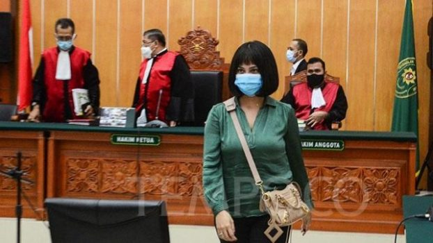 Vanessa Angel Dituntut Hukuman Penjara Enam Bulan