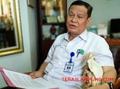 Direktur Utama (Dirut) PDAM Way Rilau AZP Gustimigo.