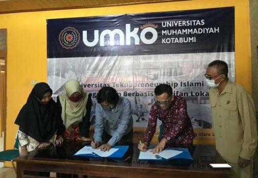 Universitas Muhammadiyah Kotabumi-AJI Bandarlampung Teken MoU
