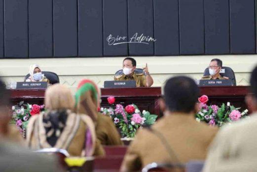 Gubernur Minta Pimpinan Tinggi Pratama Bekerja Profesional dan Jauhi Narkoba