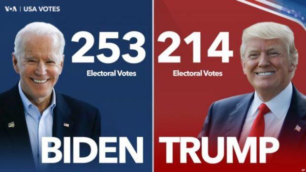 Pilpres AS: Biden Unggul, Suara Masih Dihitung