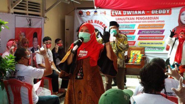KPU Kembali Tetapkan Eva-Deddy Sebagai Paslon Pilkada Bandarlampung