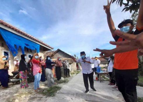 Tidak Golput dan Terapkan Prokes 3M Jadi Materi Kampanye Antoni Imam di Palas