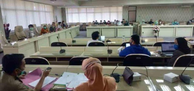 Komisi V DPRD Lampung Bahas Raperda Bersama OPD