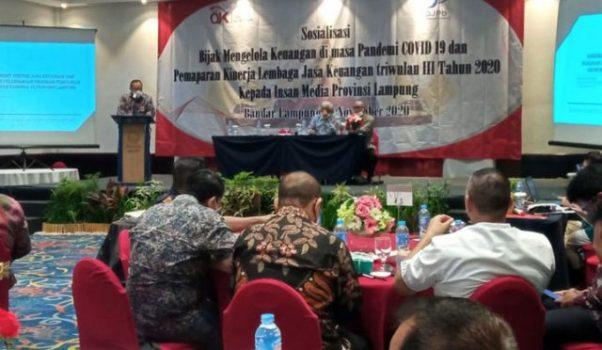 OJK Lampung: Kinerja Jasa Keuangan pada Triwulan III 2020 Tetap Terjaga