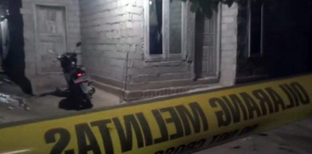 Rumah terduga teroris bernama Syafrudin alias Taufiq Bulaga alias Upik Lawangan.di Kampung Sribawono, Kecamatan Seputih Banyak, Lampung Tengah sudah dipasangi garis polisi. (Foto: Ist)