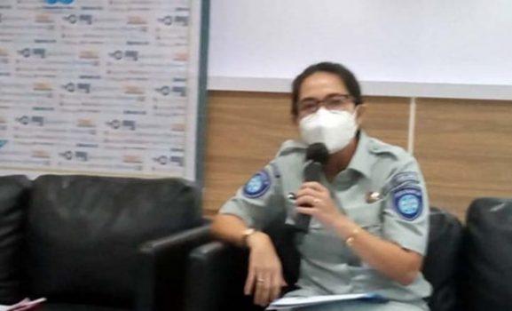Kepala Cabang Jasa Raharja Lampung Margareth V.S Panjaitan