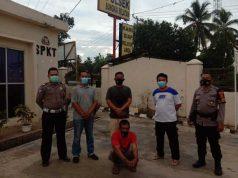 Tersangka penipuan dan penggelapan truk milik warga Lampung Utara.jpg
