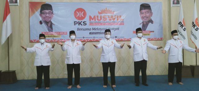 Mufti Salim Terpilih Lagi, Ini 8 Pimpinan PKS Lampung Periode 2020-2025