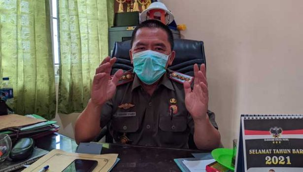 Kasat Pol PP Kota Bandarlampung, Suhardi Syamsi.