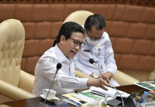 Mendes PDTT Menteri Paparkan Program Prioritas Pembangunan Desa di DPR