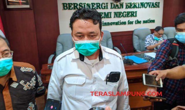 Universitas Lampung (Unila) tetap akan melaksanakan Kuliah BK-KKN Unila Muhammad Basri memberikan keterangan pers tentang kesiapan KKN Unila.