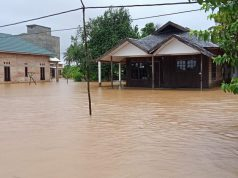 Banjir menggenangi ribuan rumah di Kabupaten Tanah Laut, Provinsi Kalimantan Selatan sejak 3 Januari 20210. (Foto: BPBD Tanah laut)
