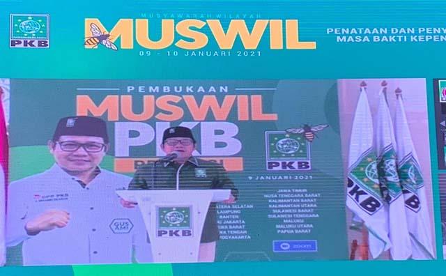 Muswil PKB se-Indonesia, Gus AMI Yakin PKB Tembus Tiga Besar Pemilu 2024