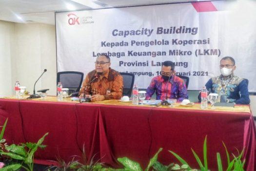 OJK Gelar 'Capacity Building' bagi Para Pengelola LKM di Lampung