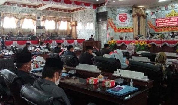 APBD Hasil Evaluasi tak Kunjung Diberikan, DPRD Lampung Utara 'Meradang'