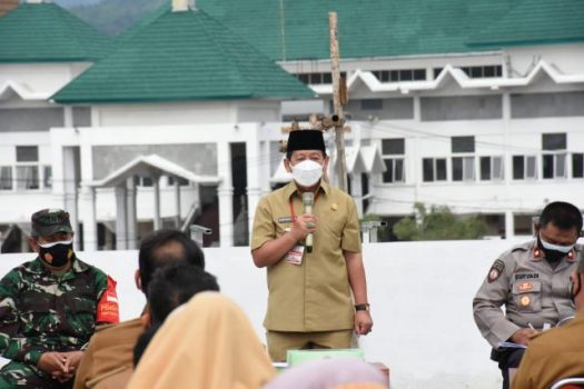 Walikota Herman HN: Tidak Pakai Masker Bisa Didenda Rp1 Juta