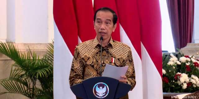 HPN 2021, Presiden Jokowi Ajak Pers Bangun Harapan dan Optimisme Hadapi Pandemi