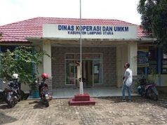 Kantor Dinas Koperasi dan UMKM Lampung Utara