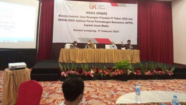 OJK Optimistis Industri Jasa Keuangan di Lampung Membaik pada 2021