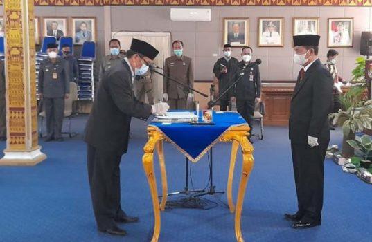 Rolling Pejabat Pemkab Lampura, Maspardan dan Khairul Anwar Tukar Posisi