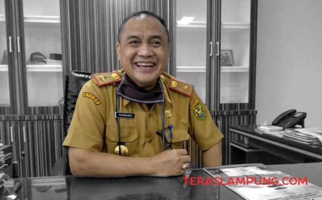 Kepala BPPRD Kota Bandarlampung, Yanwardi.