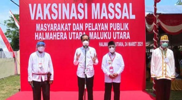 Jokowi Pastikan Distribusi Vaksin Covid-19 Sampai ke Wilayah Terpencil