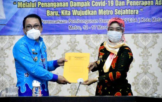 Hadiri Musrenbang Kota Metro, Ini Pesan Wagub Lampung