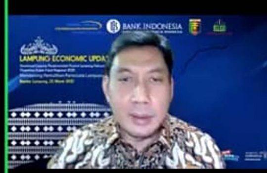 Kepala Perwakilan Bank Indonesia Provinsi Lampung, Budiharto Setyawan