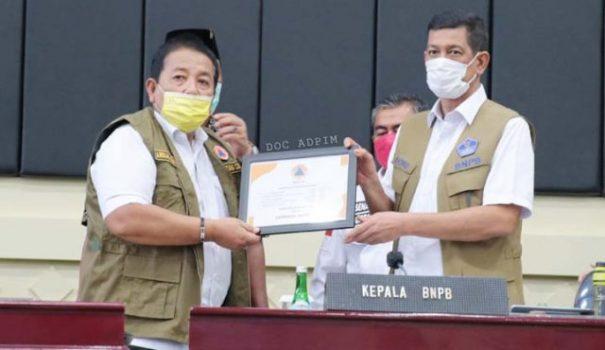 Berhasil Kendalikan Covid-19, Gubernur Lampung Diapresiasi Kepala BNPB