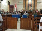 Nunik hadir sebagai saksi pada sidang kasus fee proyek mantan Bupati Lampung Tengah Mustafa di sidang Tipikor PN Tanjungkarang, Rabu (4/3/2021).