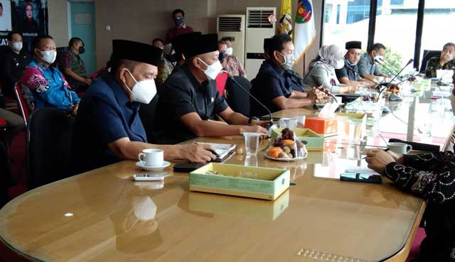 Reses di Pemkot Bandarlampung, Delapan Anggota DPRD Lampung Bahas Infratruktur Jl Ryacudu