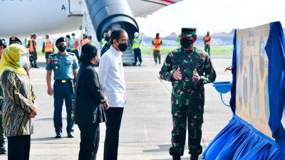Presiden Jokowi Jamin Pendidikan dan Rumah bagi Anak Awak KRI Nanggala 402