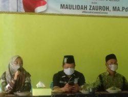 Maulida Zauroh Sosialisasikan Perda AKB di Pondok Pesantren Tubaba