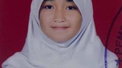 Hanifa Mutiara Isma, siswi kelas 9 SMPN 2 Bandar Lampung