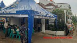 Kediaman Chandra Yunita, kakak sulung Letkol (P) Heri Oktavian, di Jalan Turunan Pemuka, Rajabasa, Bandarlampung.