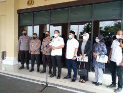 Anggota Komisi III DPR RI Taufik Basari Kunker ke Polda Lampung