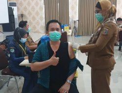 Para Anggota DPRD Lampung Jalani Vaksinasi Covid-19