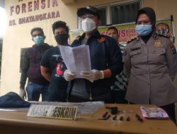 Begal Asal Lampung Timur Tewas Ditembak Polisi di Jalan Pangeran Tirtayasa