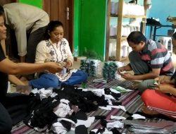 Cerita tentang Kaus Kaki 'Made in' Desa Sidomekar Lampung Selatan