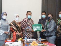 Duta Swasembada Gizi dan ChildFund Silaturahmi dengan Bupati Lampung Selatan
