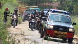 Antisipasi Begal-Perampok-Curanmor Jelang Lebaran, Tim Gabungan Senjata Lengkap Gelar Patroli di Lamteng