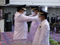 Melantik Bupati-Wakil Bupati Pesisir Barat, Ini Pesan Gubernur Lampung