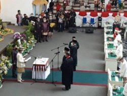 PAW, Ketua DPRD Lampung Lantik Lenistan dan Sahdana