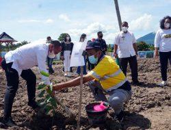 Hari Air Sedunia, Pemkab Lampung Selatan Tanam Pohon di Kebun Edukasi