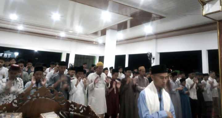 Pondok Pesantren Tahfidz Al Quran Dewan Dakwah Lampung Kemiling, Bandarlampung, Senin malam (26/4/2021).