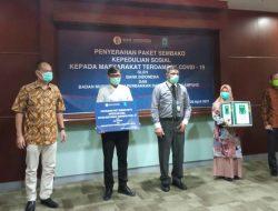 Peduli Covid-19,  Bank Indonesia KpW Lampung Sinergi Dengan BMPD Bagikan 3.726 Sembako