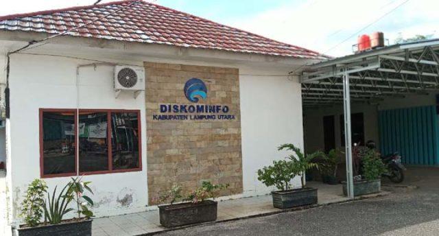 Kantor Dinas Komunikasi dan Informasi Lampung Utara